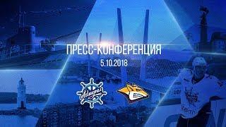 Пресс-конференция после матча «Адмирал» - «Металлург МГ»