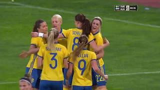 Sweden Vs. Russia ∞ Algarve Cup 2017