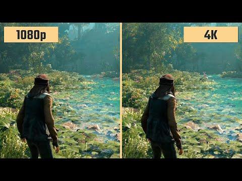 1080p vs. 4k 2160p Gaming