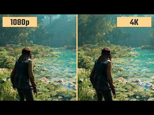 1080p Vs 4k 2160p Gaming
