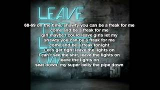 50 Cent - Leave The Lights On Lyrics