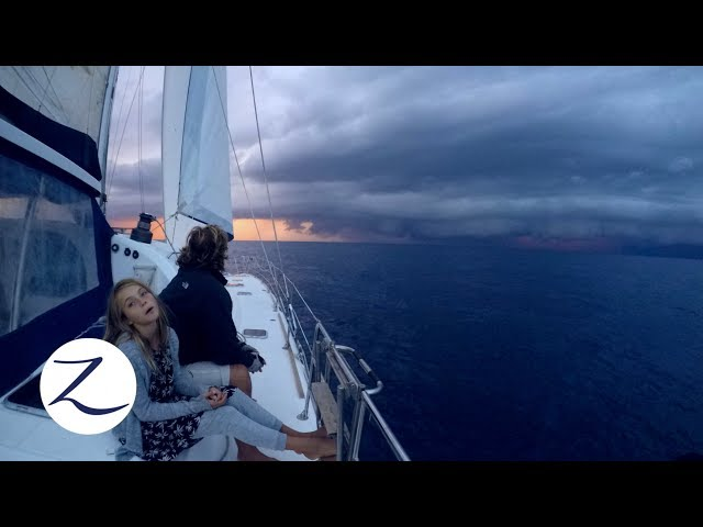 The Perfect Storm - Bad Weather Sailing / Daily Life on a Catamaran (Zatara Ep 61)
