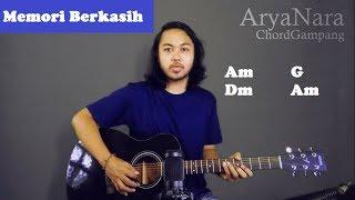 Chord Gampang (Memori Berkasih - Achik Spin Siti Nordiana) Arya Nara (Tutorial Gitar) Untuk Pemula