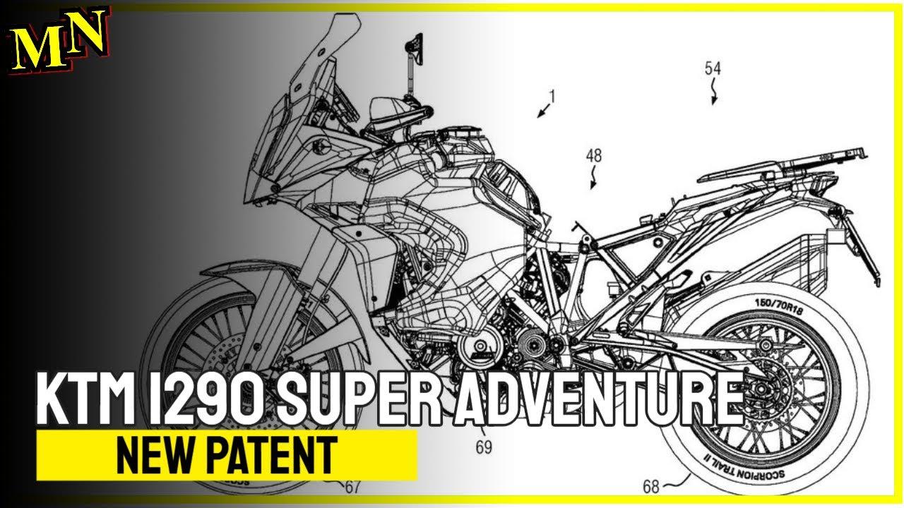 Patent drawings reveal work on KTM 1290 Super Adventure