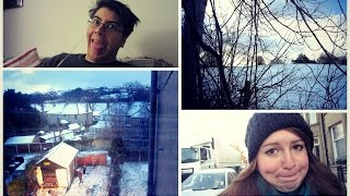 SNOW IN ENGLAND !?! (Daily Vlog 207)