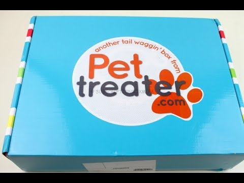 Pet Treater Box October 2018 Unboxing + Coupons #PetTreater