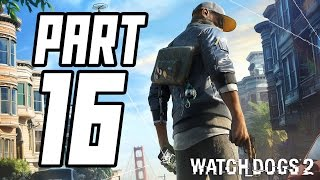► Watch Dogs 2 | #16 | Kroksy a Alcatraz! | CZ Lets Play / Gameplay [1080p] [PC]