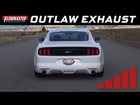 2015-17 Ford Mustang GT 5.0L - Outlaw Cat-Back Exhaust System 817734