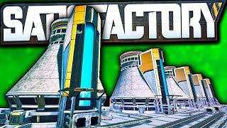 Our Nuclear Power Plant has 27 NUCLEAR REACTORS?! | Satisfactory Early Access Gameplay Ep 43