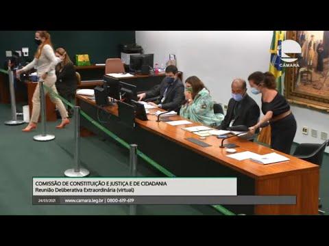 Comissão de Constituição e Justiça  - Análise de recurso Dep. Boca Aberta -  24/03/2021 - 14:35