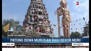 Patung Dewa Murugan di Sumut Raih Rekor MURI