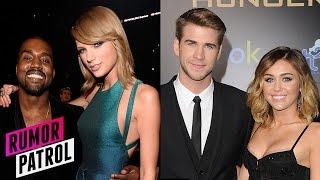 Taylor Swift CRYING at Grammy - Miley Secret Wedding to Liam Hemsworth (RUMOR PATROL)