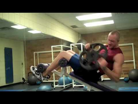 Self Made Exercise Index:  Decline Weighted Twists