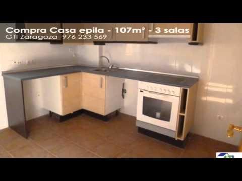 Venta - Casa - Epila - 3 habitaciones - 107m²