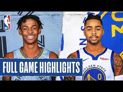 GRIZZLIES at WARRIORS   FULL GAME HIGHLIGHTS   December 9, 2019