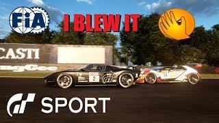 GT Sport I Blew It - FIA Nations Round 6 Bathurst Top Split