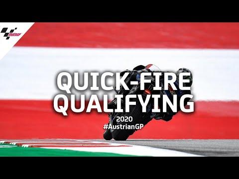 MotoGP オーストリアGP 予選のハイライト動画
