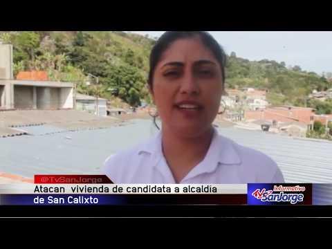 Atacan vivienda de candidata a la alcaldia de San Calixto