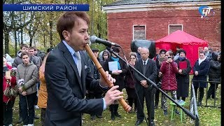 В селе Медведь отметили десятилетие установки мемориала в память о событиях русско-японской войны