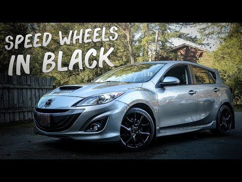 THE MAZDA 3 COMES BACK TO LIFE & Black Speed 3 Wheels!