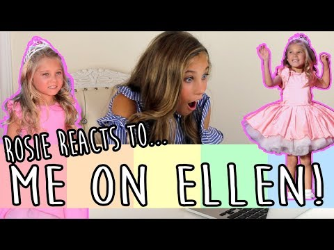 REACTING TO MYSELF ON THE ELLEN SHOW!