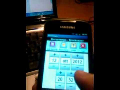 Video of TimeKeeper