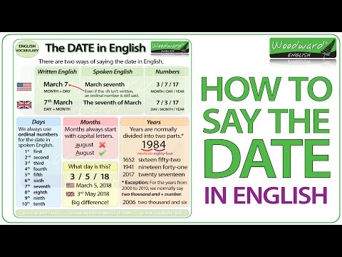 mp4 Learning English Dates, download Learning English Dates video klip Learning English Dates