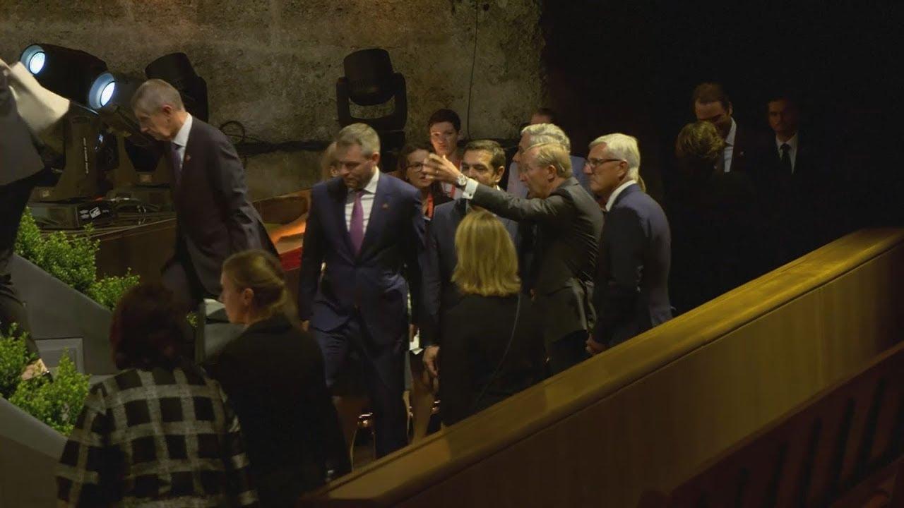 Ο πρωθυπουργός στο δείπνο των ηγετών της ΕΕ