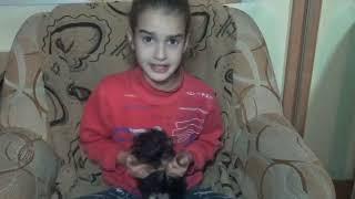 Мое первое видео на канале ютуб ! Дети могут все ! My first video on You Tube channel !