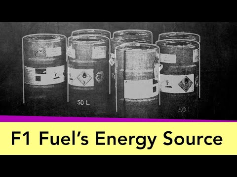 Image: Formula 1 explained: How the energy gets into F1 fuel