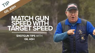 Missing Clay Targets? Match Gun Speed With Target Speed | Shotgun Tips With Gil Ash