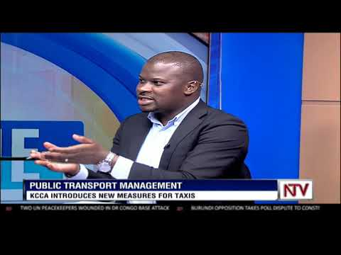 KCCA introduces new measures for taxis | STUDIO INTERVIEW
