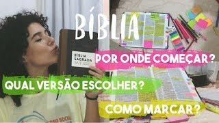 COMO COMEÇAR A LER/ESTUDAR A BÍBLIA