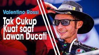 Gagal Naik Podium di Sirkuit Le Mans, Valentino Rossi Ungkap Dirinya Finish di Posisi ke-5