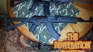 AK47 Vs AR15 Penetration Test