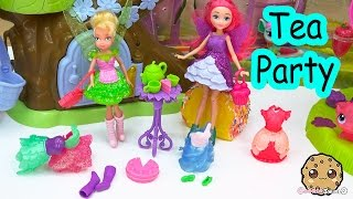 Disney Faries Tinker Bell Pixie Sweets Bakery Mini Fairy Doll Dress Up Tea Party With Barbie