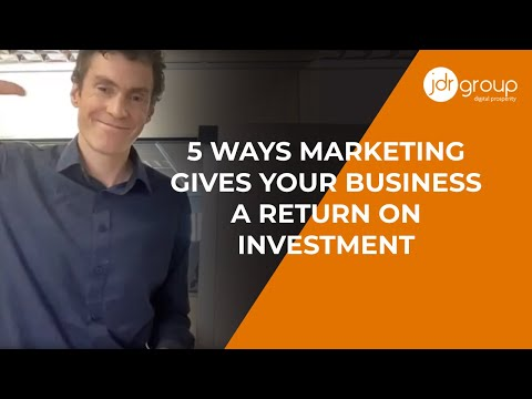 , title : 'Why You Should Invest In Marketing - 5 Ways Marketing Gives Your Business A Return On Investment