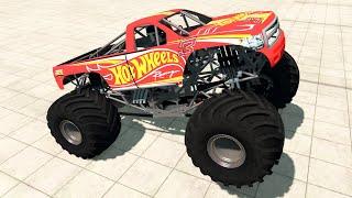 Monster Trucks Crushing Cars | BeamNG Drive Gameplay #52 | Live Stream
