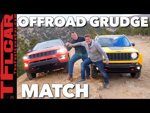 Jeep Compass Vs Renegade Off-Road Mashup Review And Drag Race