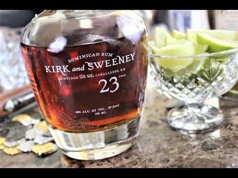 Kirk and Sweeney 23 Year Rum Review