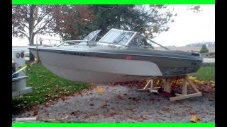 Easy way to remove boat from trailer on land, followed by some boat trailer mods!