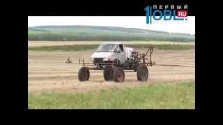 Фермер переделал «ГАЗель» в поливальную машину