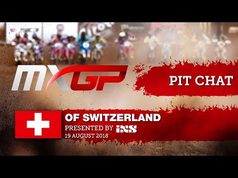 Pit Chat with Jeremy Seewer MXGP of Switzerland presented by iXS Frauenfeld-Gachnang 2018 #Motocross