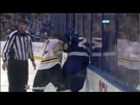 Mike Commodore vs. Shawn Thornton