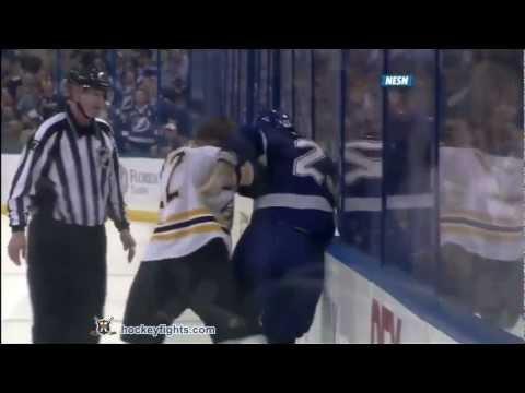 Shawn Thornton vs Mike Commodore