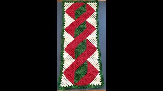 Christmas Table Runner Complete - Parts 4 & 5 - 3D