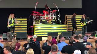 Stryper All For One at M3 Rock Festival 2018
