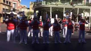 Disney Main Street Philharmonic - When the Saints go marching In