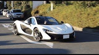 【超貴重】大黒PAでマクラーレンP1がお尻を振る‼︎  McLaren P1 drifted in Daikoku PA.