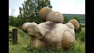 Трованты - живые камни Румынии.